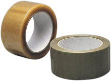 Klar tape 48mm×66m støjsvag krt/36