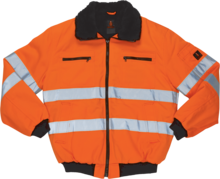 Alaska pilotjakke orange 2XL