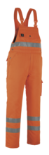Antarktis vinteroverall orange 2XL