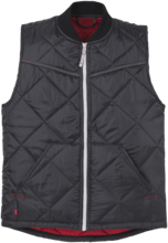 Edge quiltet termovest sort 2XL