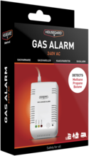 Gasalarm GA101S 230V gas/radon/co
