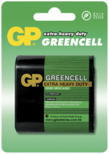 Batteri Greencell 312G/3R12 4,5V