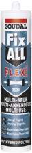 FixAll Flexi fuge-/klæbemasse 290ml sort