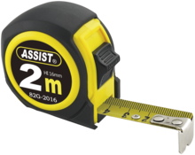 Assist båndmål 16 mm 2 mtr