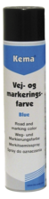 Kema vej- og mark.spray blå 600ml