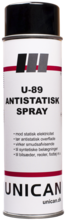 Unican U-89 antistatisk spray 500ml