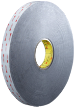 VHB dobb.klæb.tape 5962F 12mm×33m/6